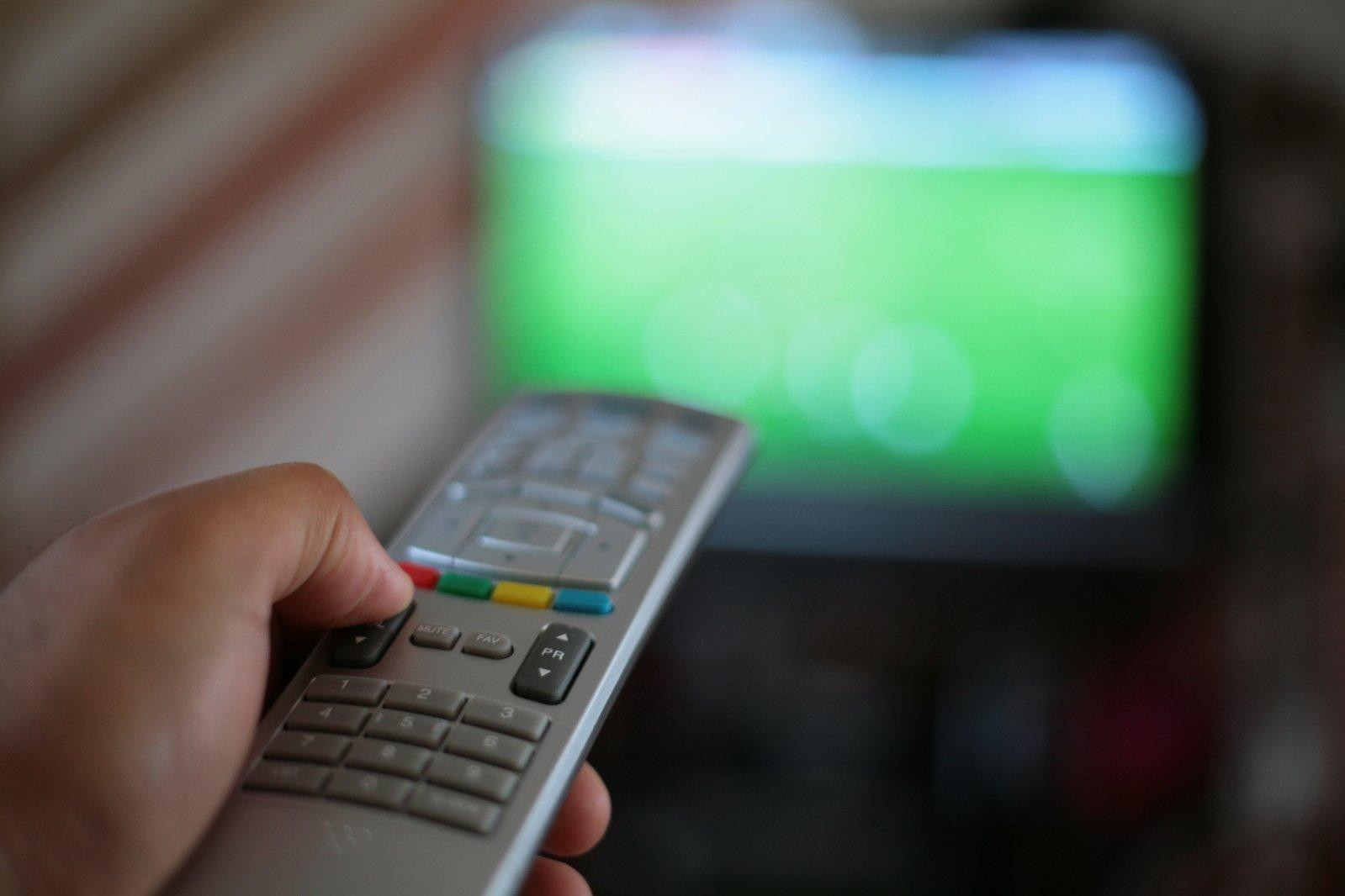 free remote control stock photo