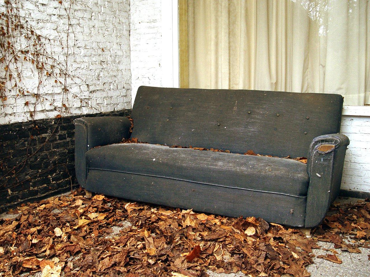 Free Old Sofa Stock Photo Freeimages Com