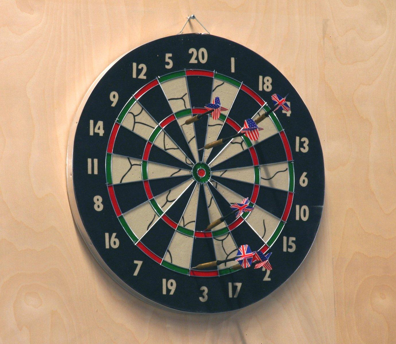 Free Dart Board Stock Photo
