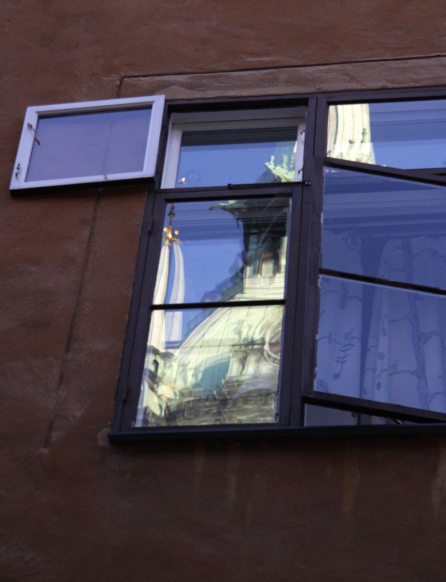 Free Window Reflections. Stock Photo