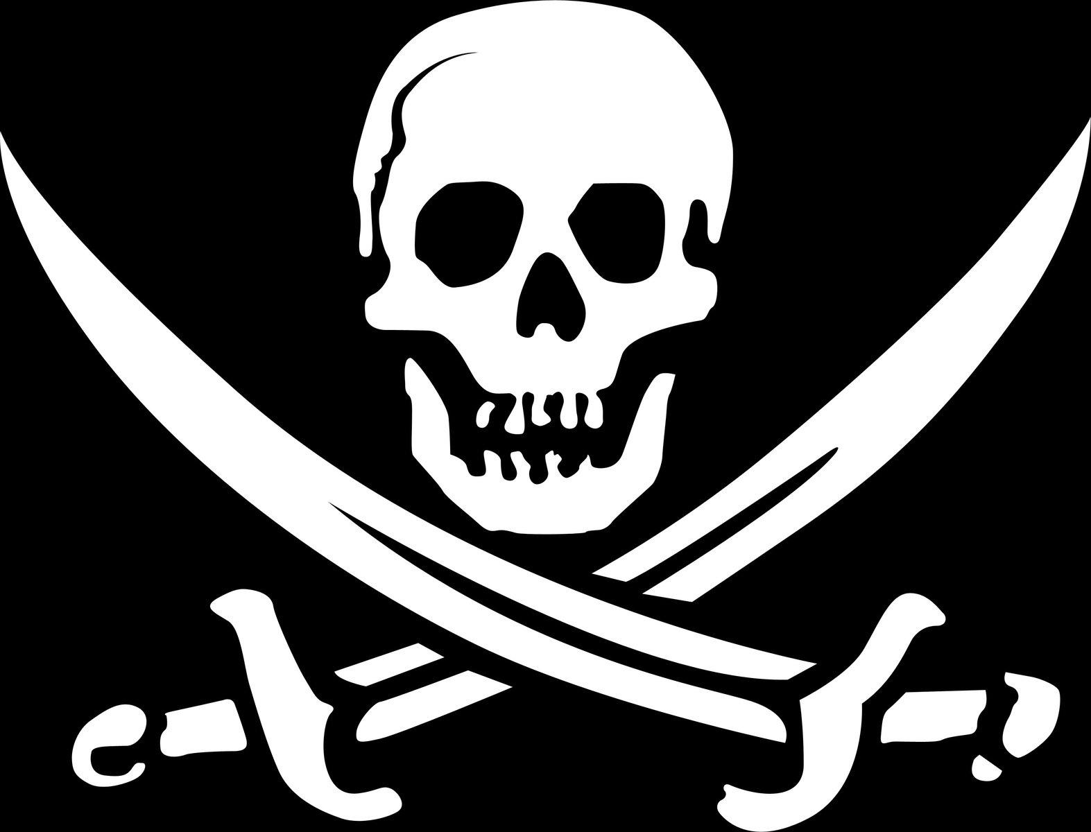 Immagini Di Teschio Pirati free logo del teschio pirata stock photo - freeimages