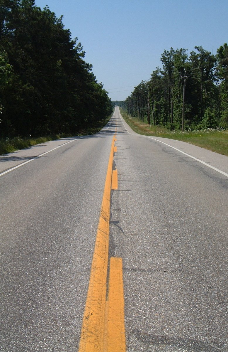 long straight road - photo #15