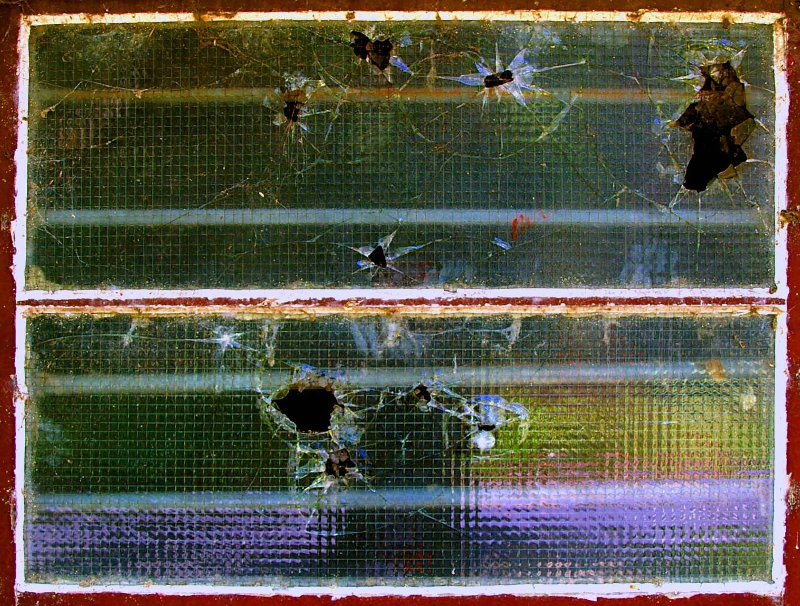 free 被打碎的窗户 2 stock photo
