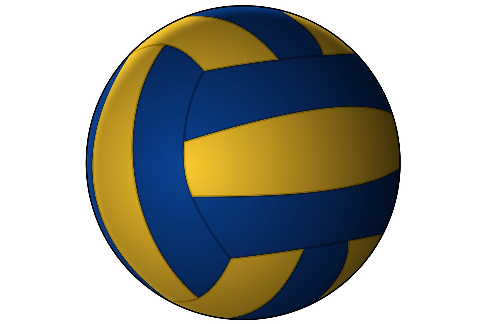 Background Abstract Volleyball Blue Yellow Ball Frame: Free Vector Volleyball 1 Stock Photo