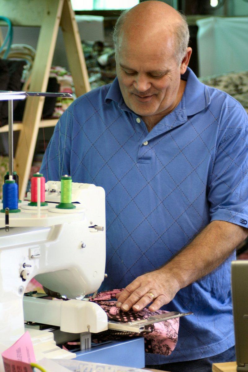 Bonnet Embroidery