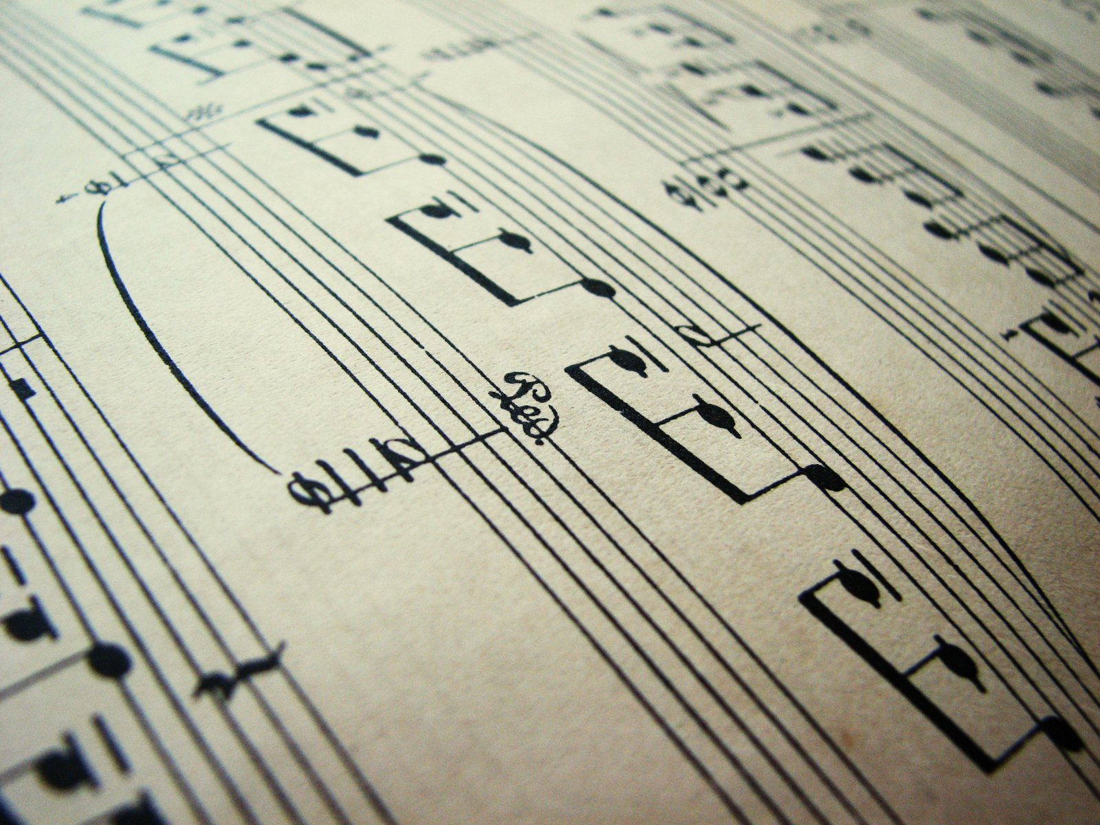 Free Music notes 2 Stock Photo - FreeImages com