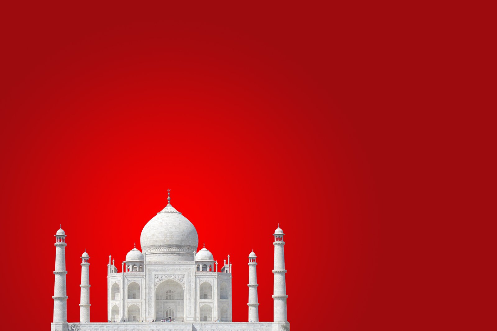 Free Taj Mahal 5 Stock Photo Freeimages Com