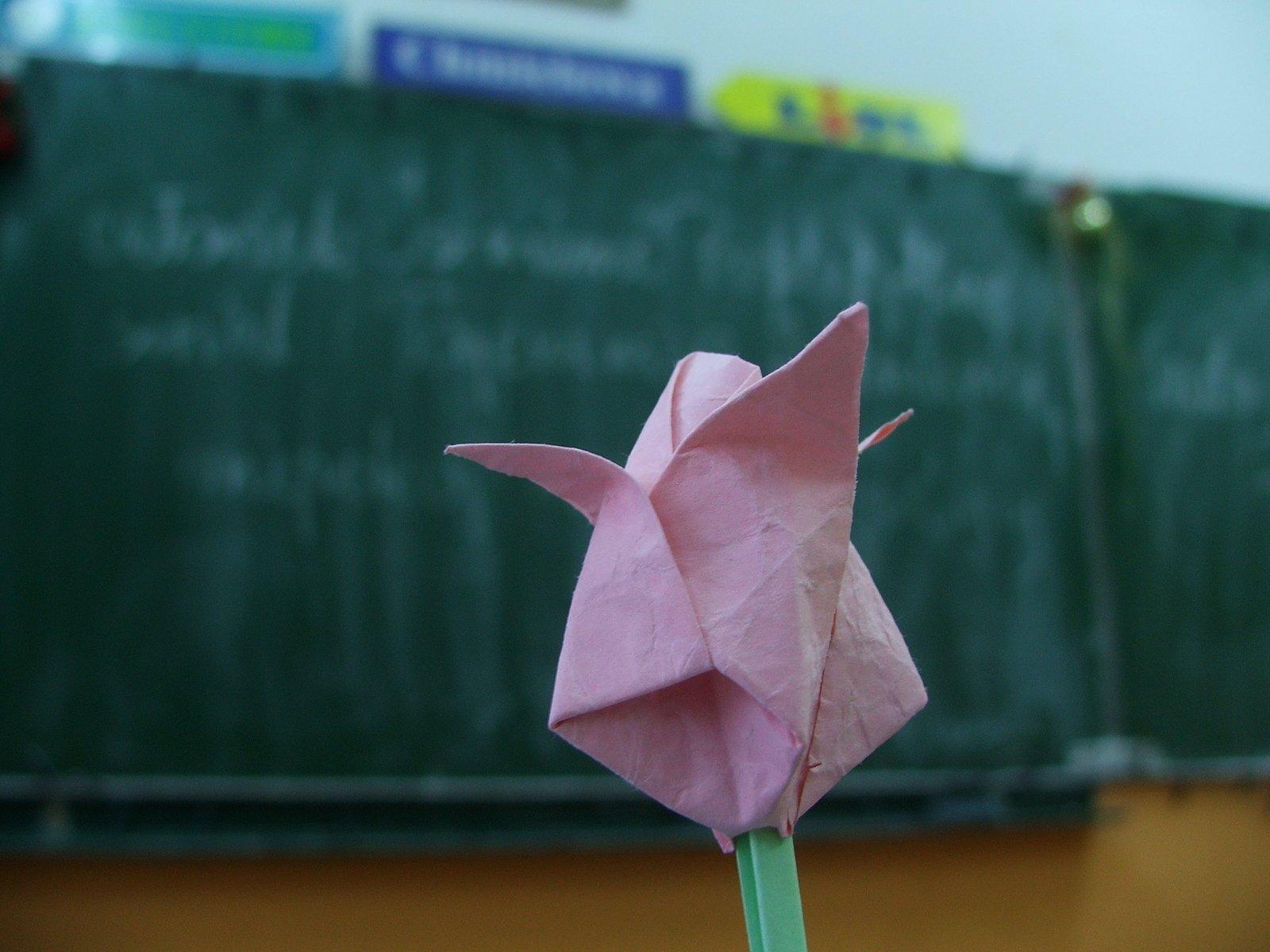 Как сделать из бумаги цветы своими руками тюльпаны