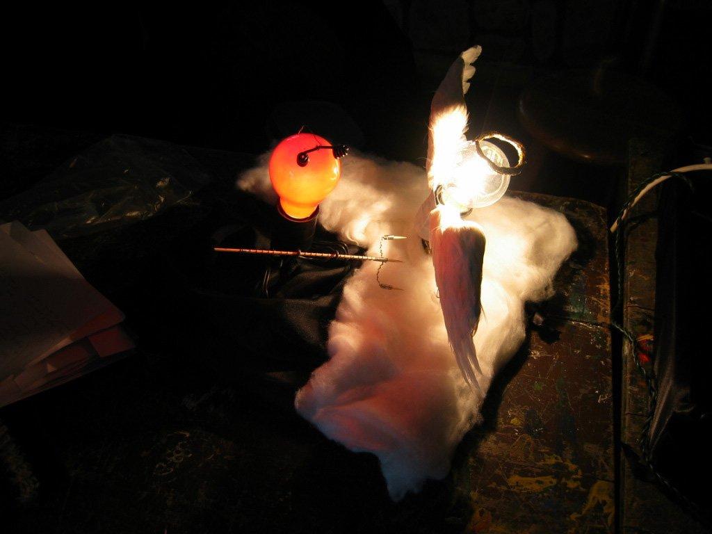 Free Engel Duivel Lamp 3 Stock Photo Freeimagescom