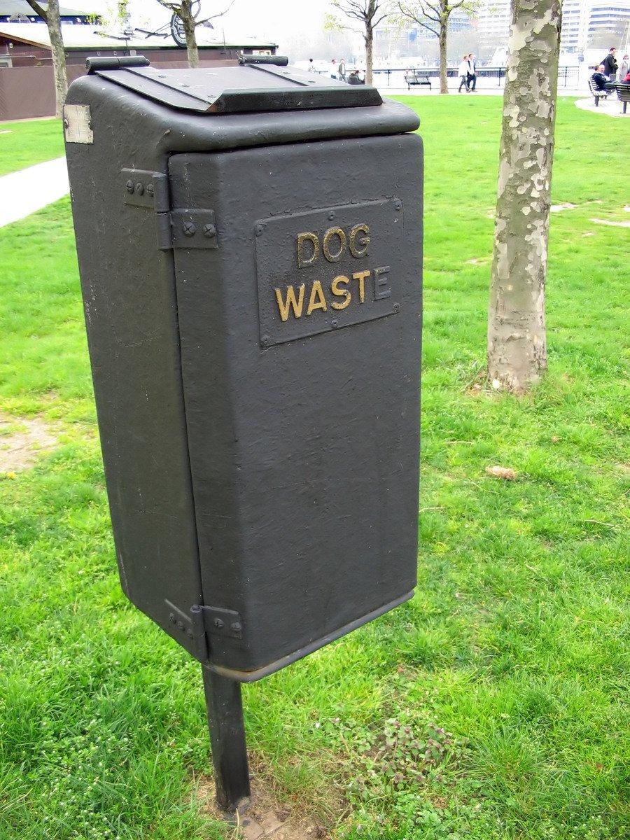 Free Dog Waste Bin Stock Photo Freeimages Com