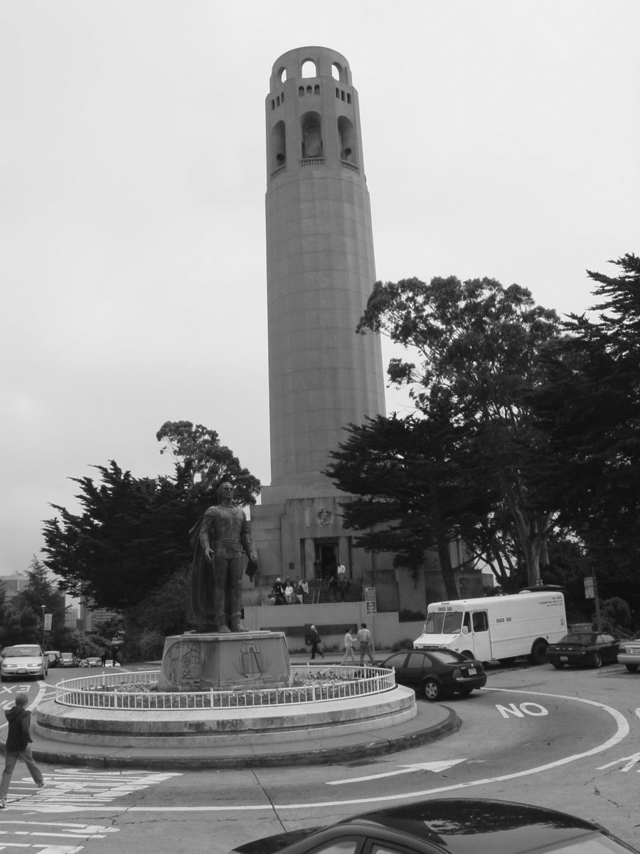 Travels With Gary: | Dream of exotic and exciting places ... |Coit Tower Flowers