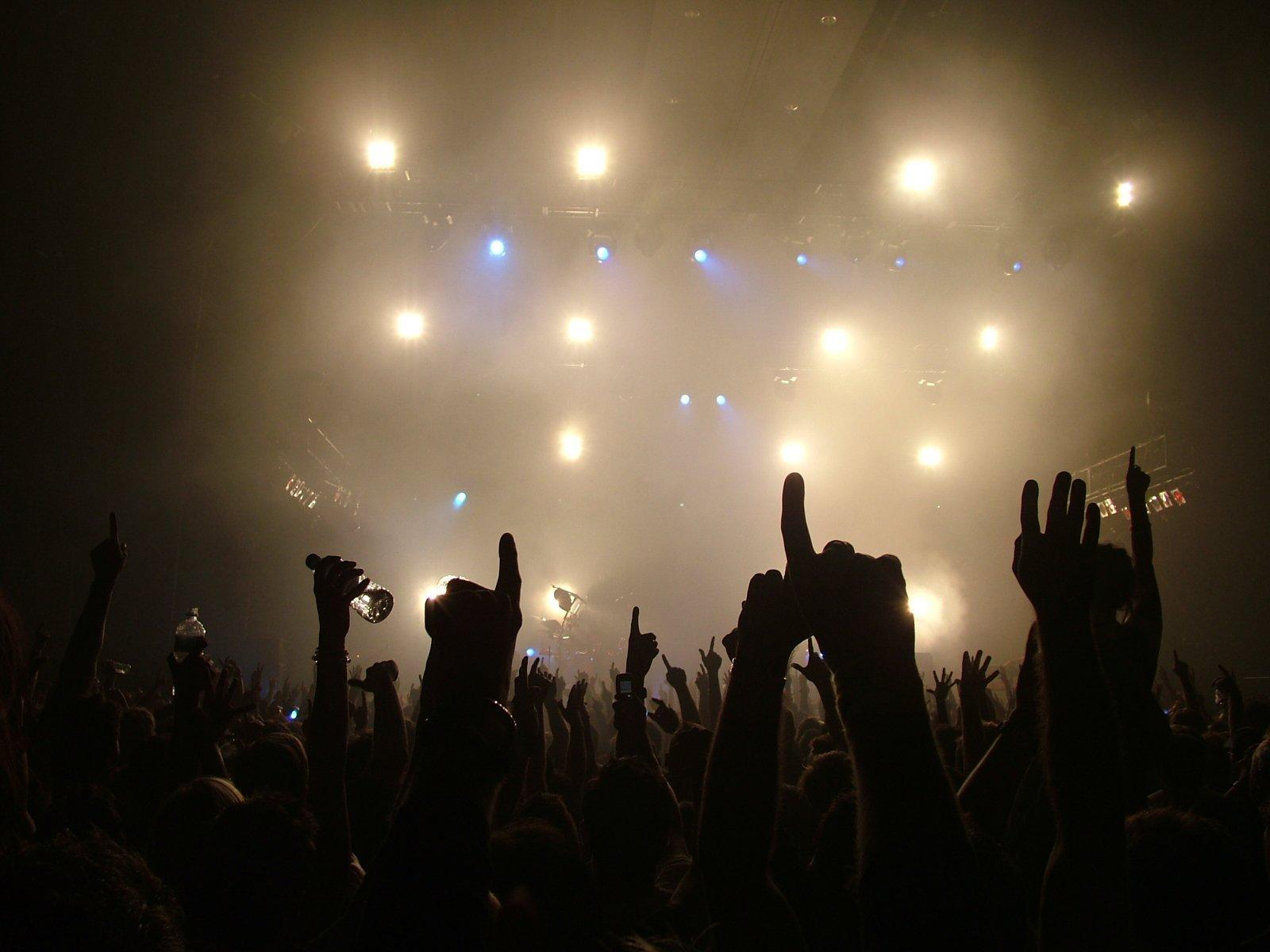 one,concert,lights,hands