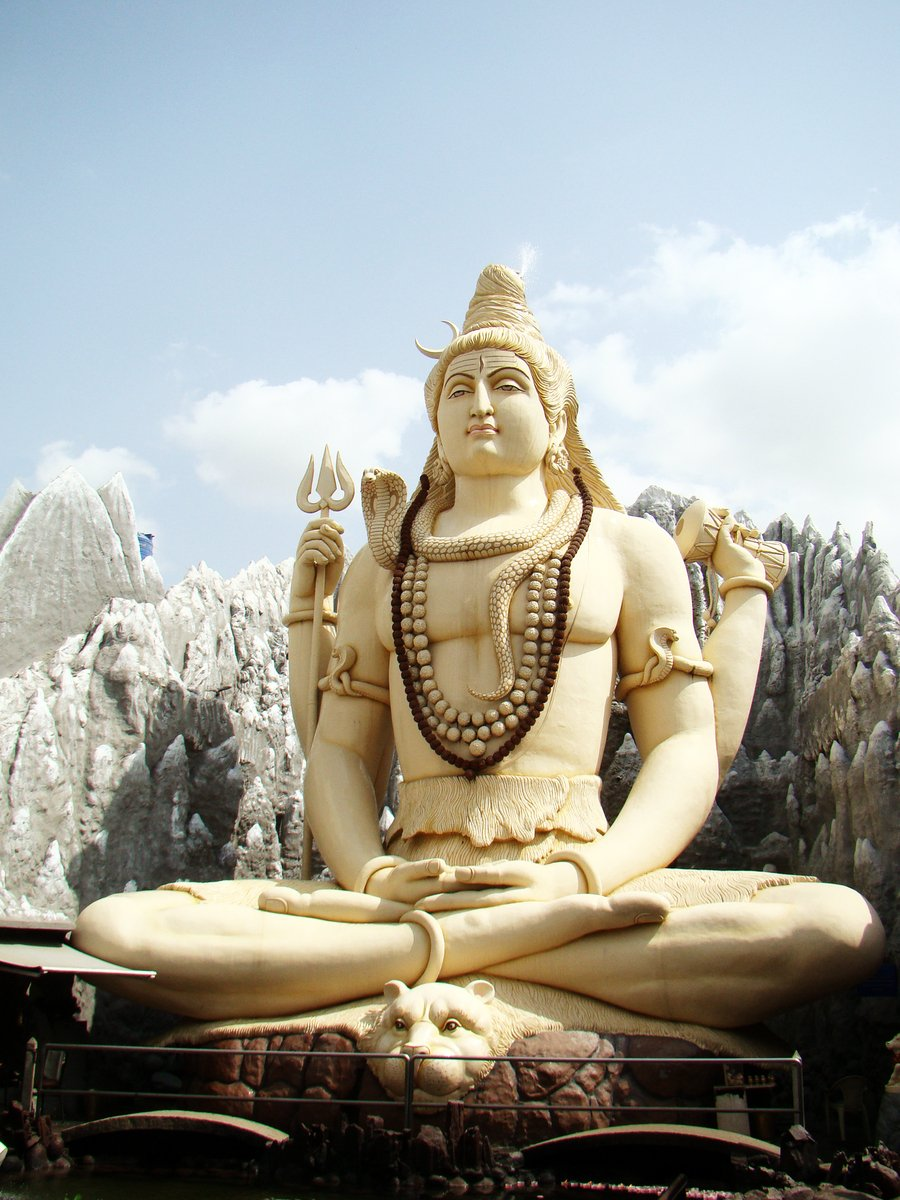 Free Lord Siva Statue Stock Photo Freeimages Com