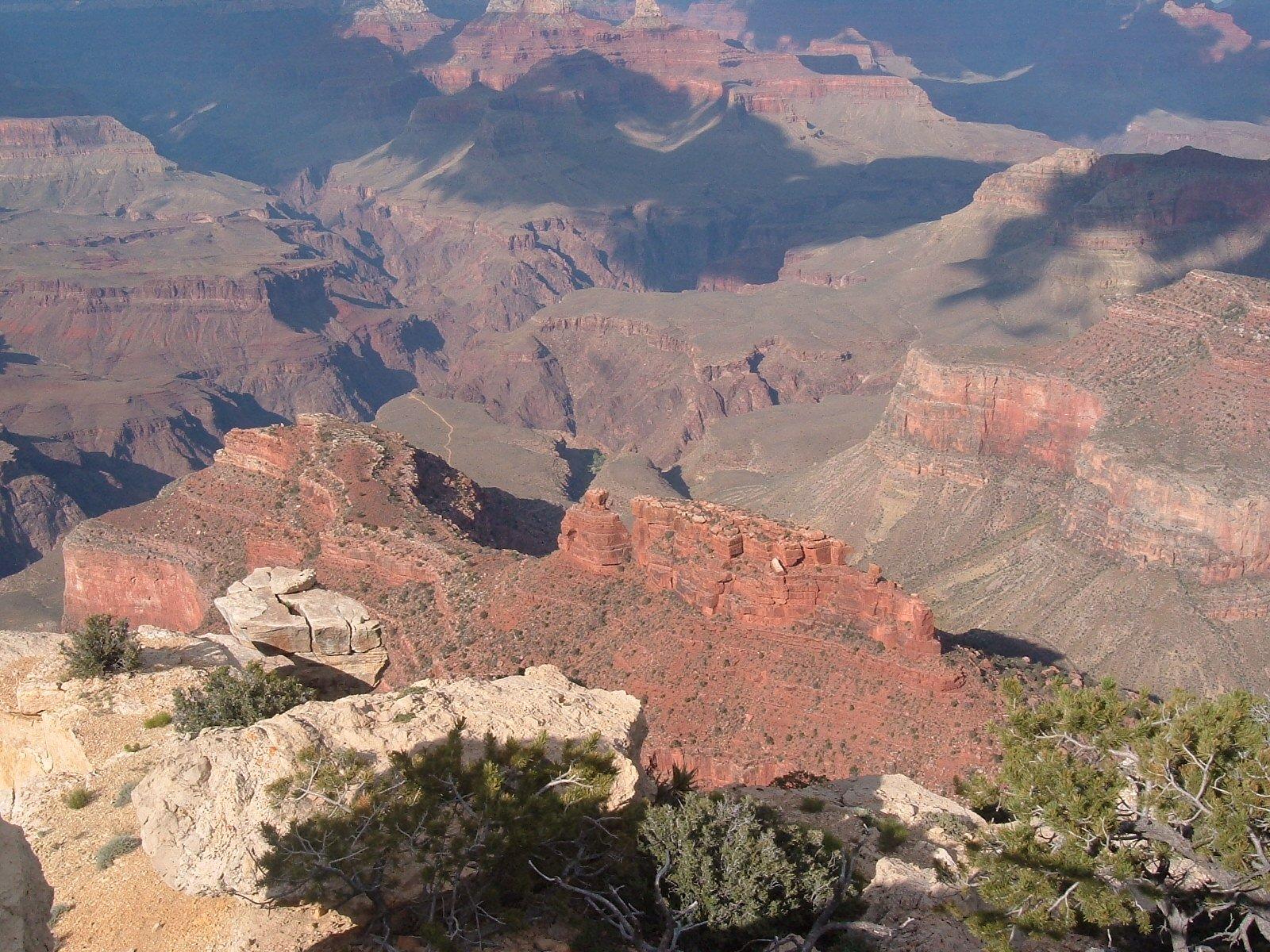 Free Grand Canyon, Battleship Rock Stock Photo - FreeImages.com