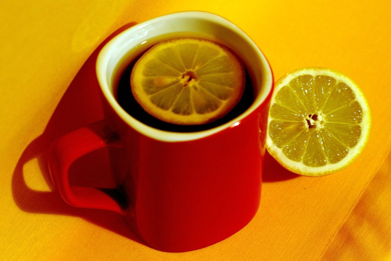 Drinking tea for health and happiness