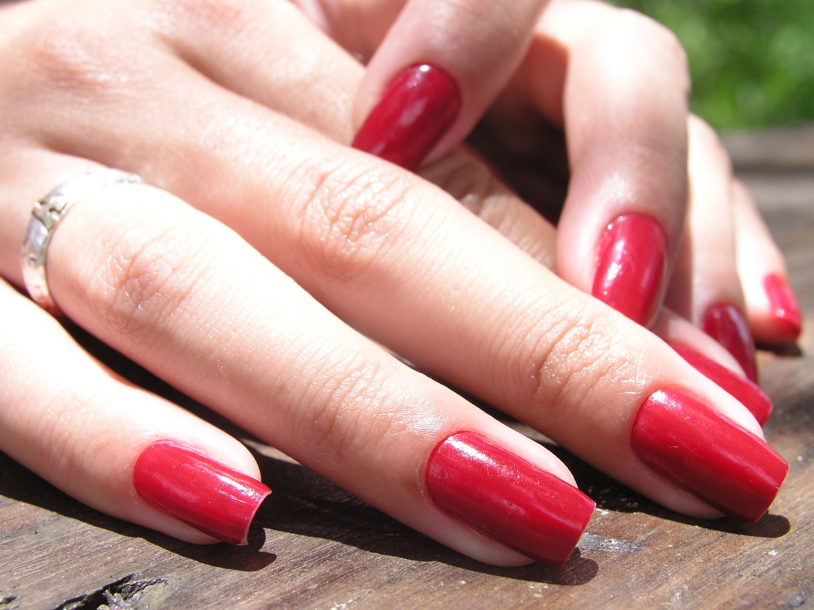 Free Girl with long red nails Stock Photo - FreeImages.com