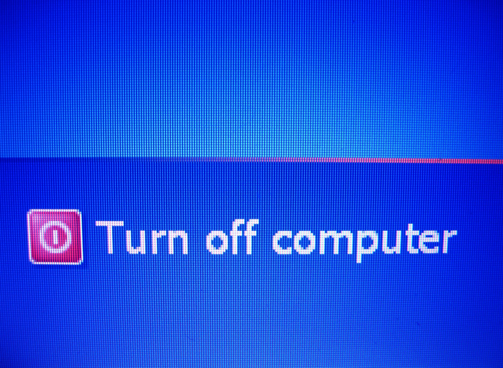 how to turn off internet computer