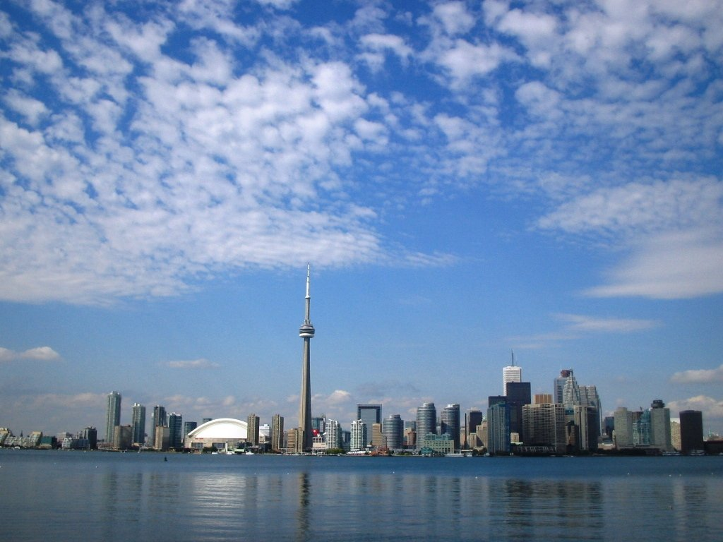 Toronto skyline from Olympic I