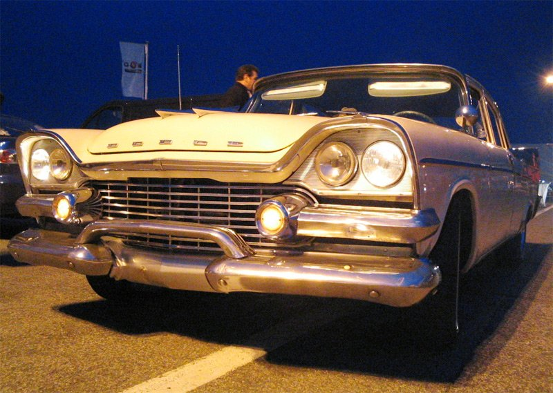 car,transportation,retro styled,white color