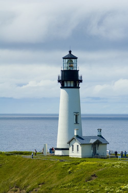 Free Yaquina Bay Lighthouse 1 Stock Photo Freeimages Com