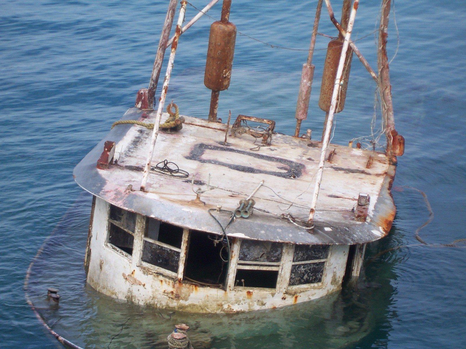 Free Sunken Ship Stock Photo - FreeImages.com