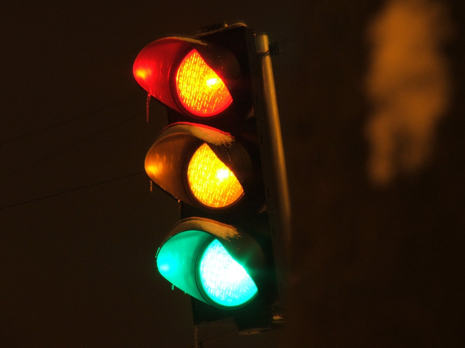 Twig Lamp Free Traffic Lights 1 Stock Photo Freeimages Com
