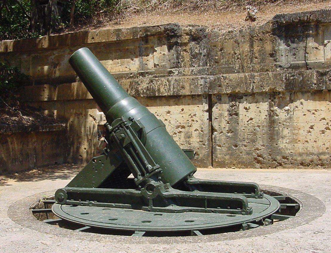第二次世界大戦の大砲