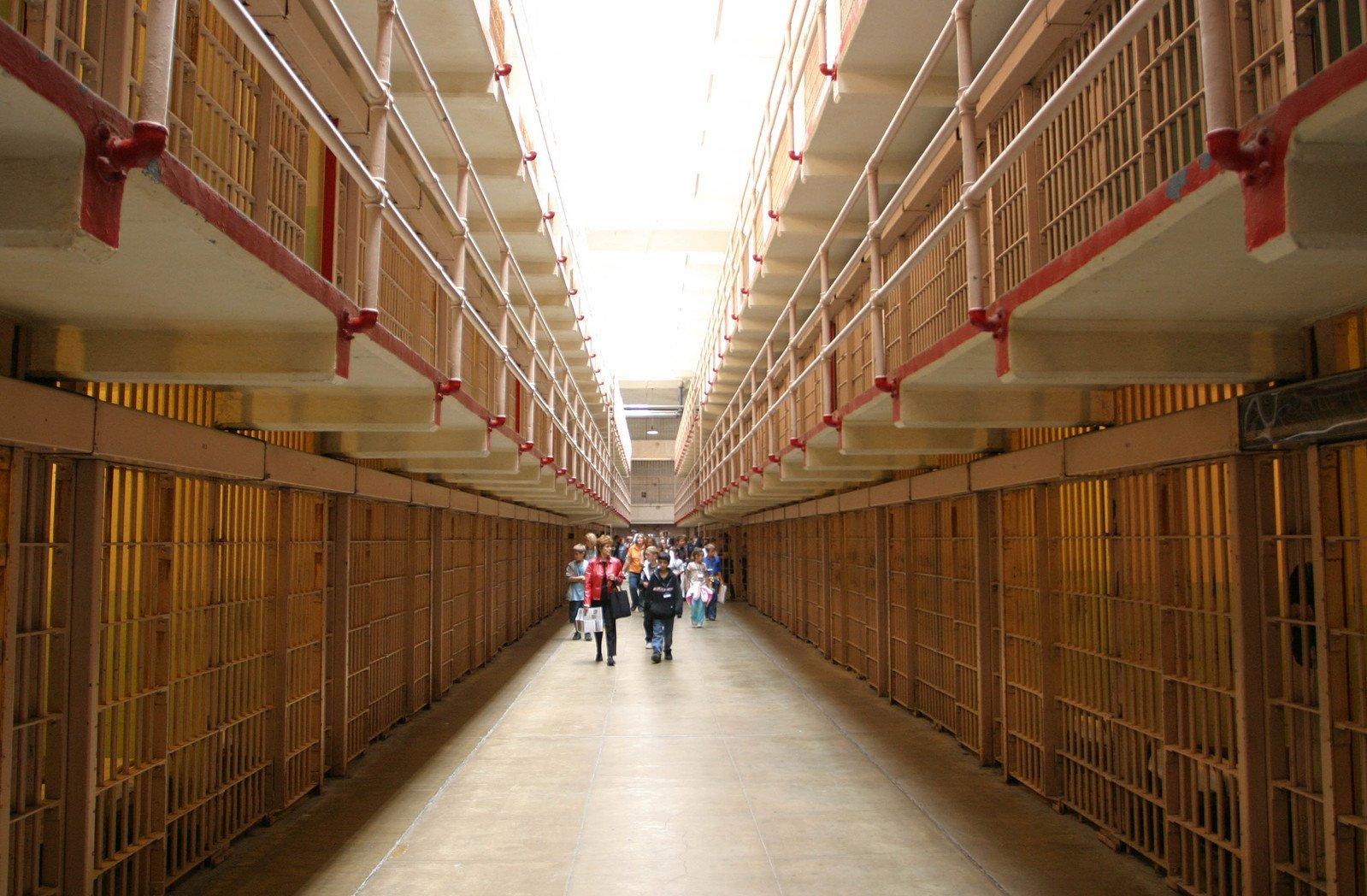 Free Alcatraz Cell Blocks Stock Photo