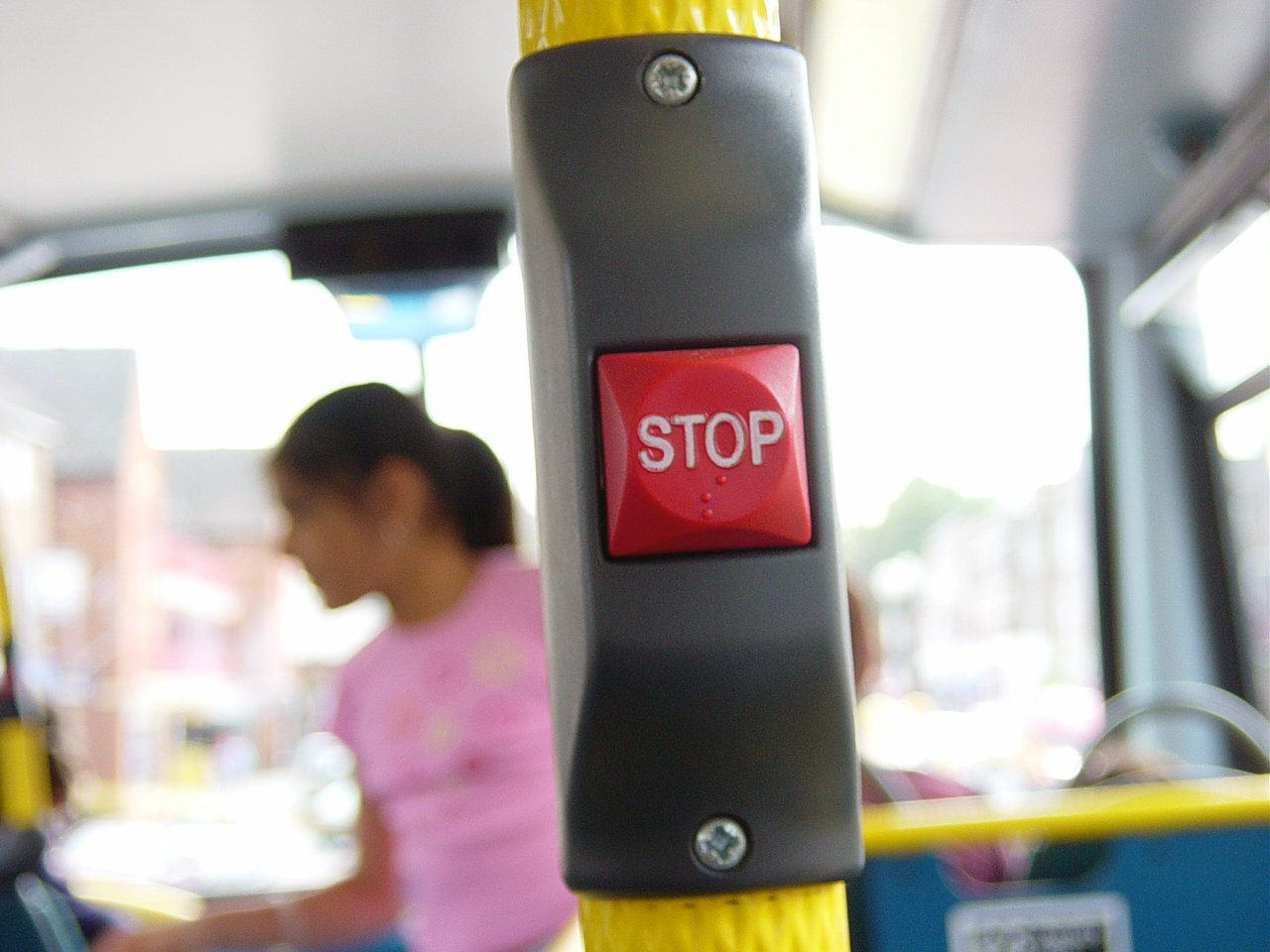 bus stop push button