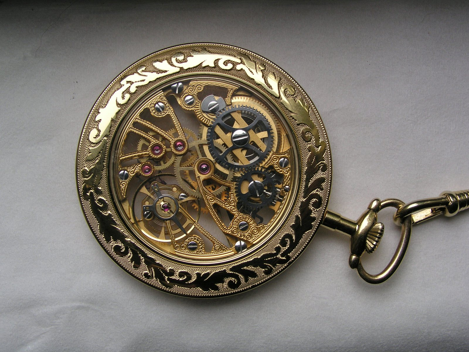 free skeleton pocket watch back stock photo freeimages com