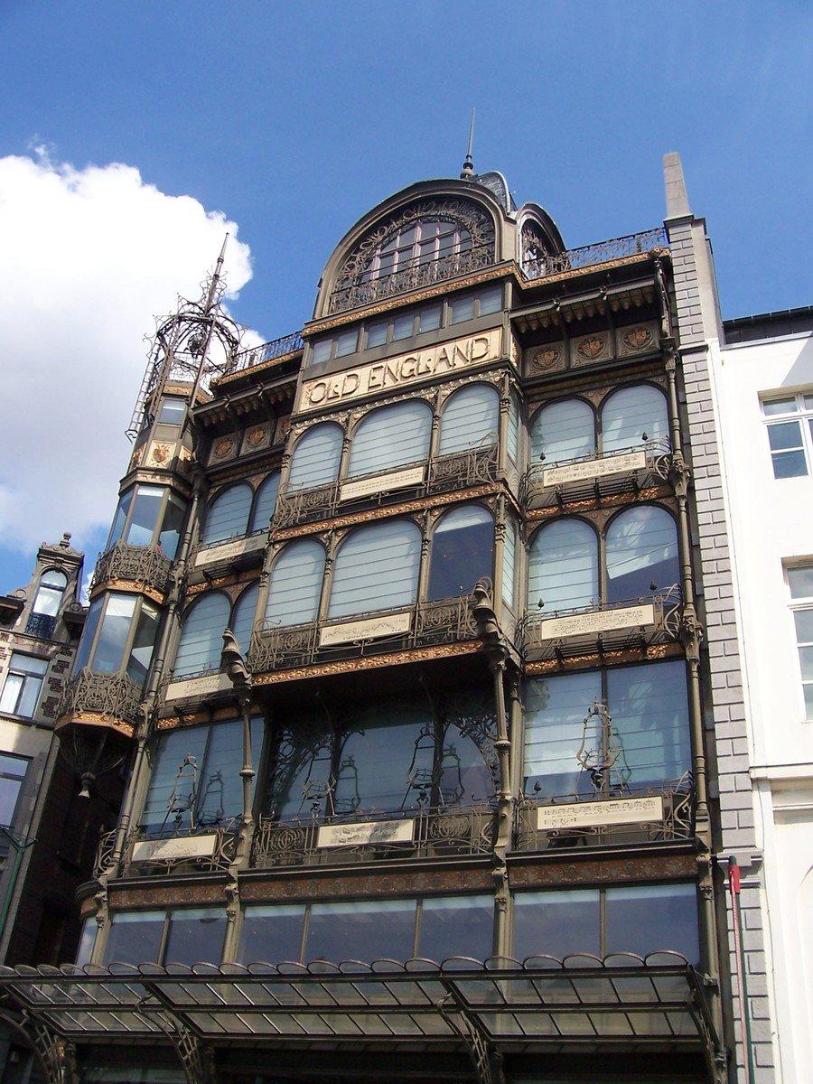 Free old england art nouveau architecture 1 stock photo - Art nouveau architecture de barcelone revisitee ...