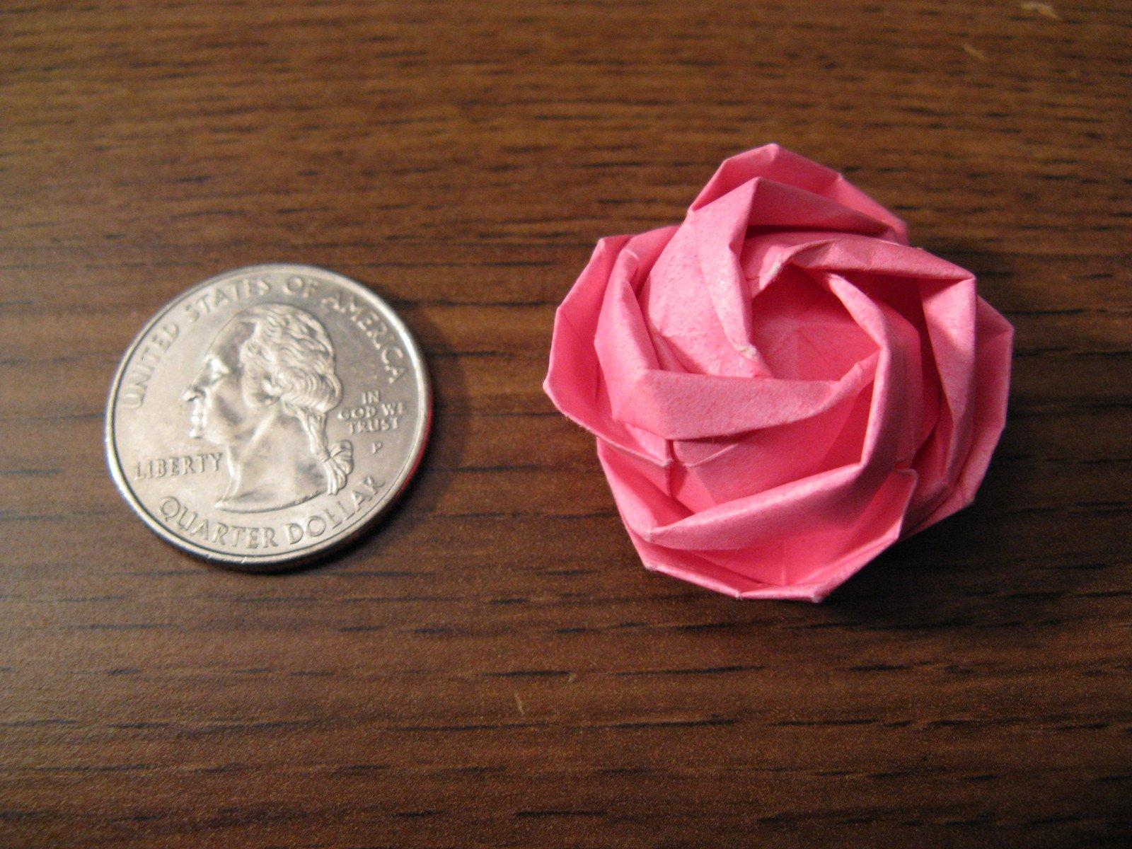 Free origami rose kawasaki stock photo freeimages free origami rose kawasaki stock photo mightylinksfo