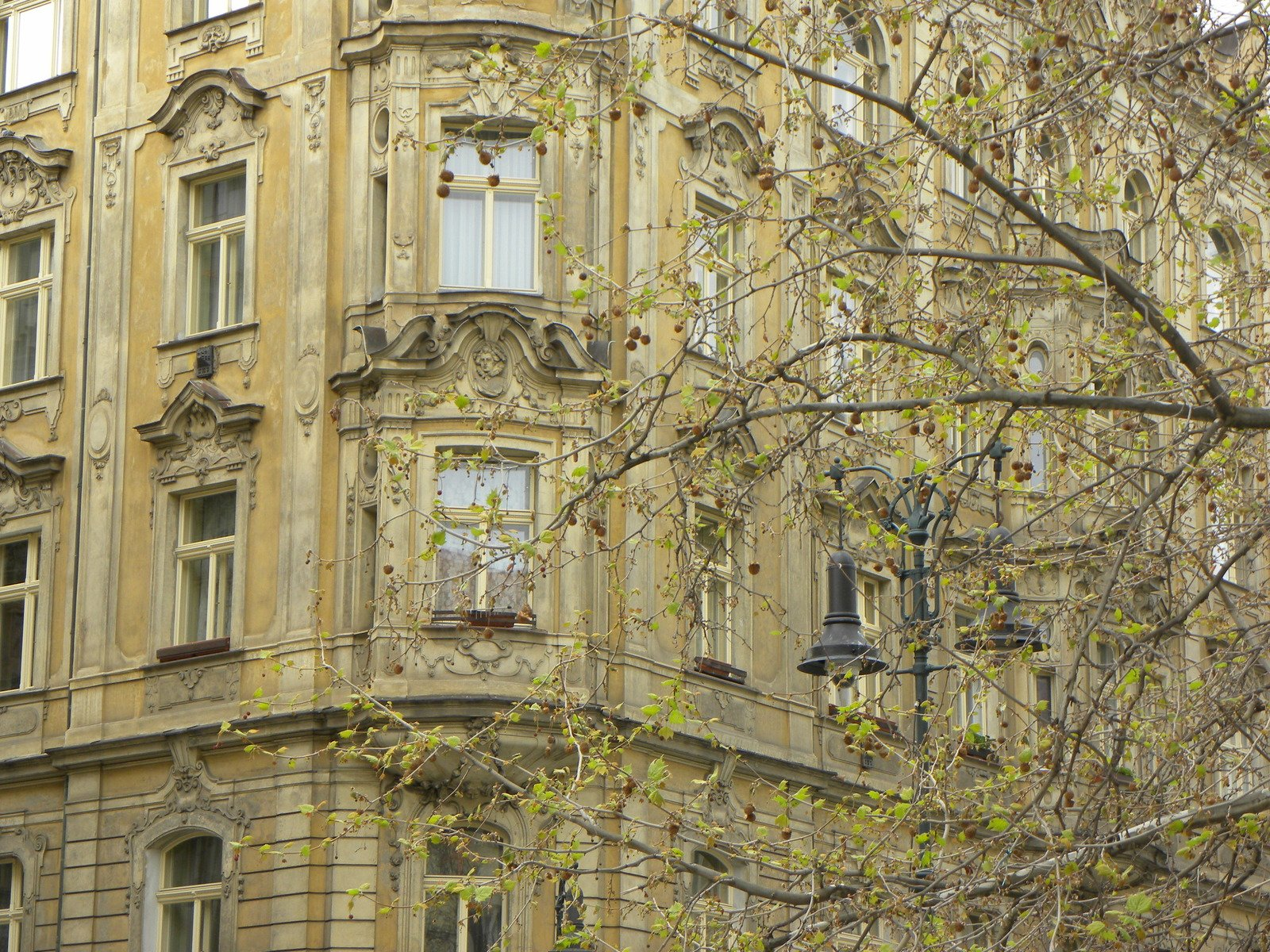 Free old apartment house in prague stock photo for Design apartment in prague 6