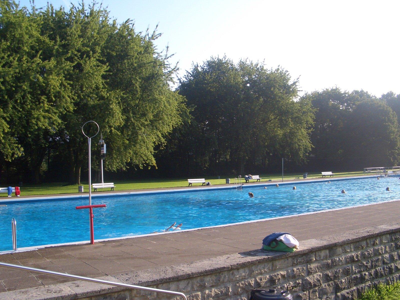 Free Public Swimming Pool Stock Photo