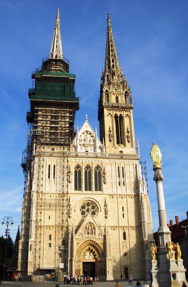 Resultado de imagen para Catedral de Zagreb