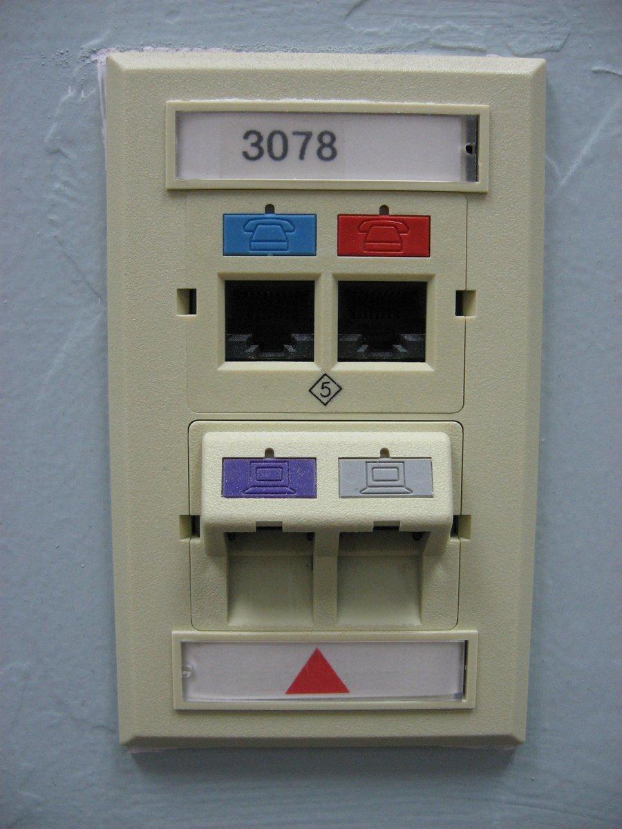 Port de prise réseau, free photo, #1242471 FreeImages