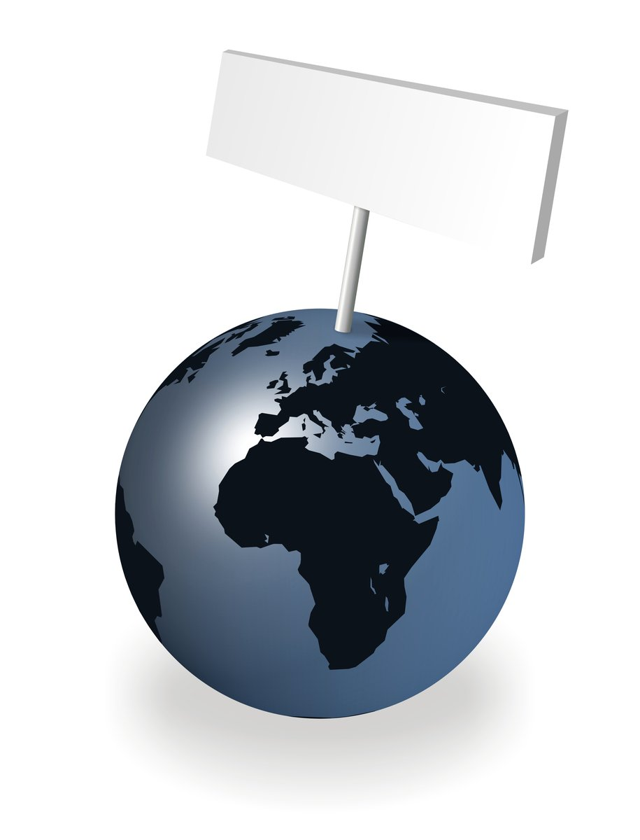 world sign