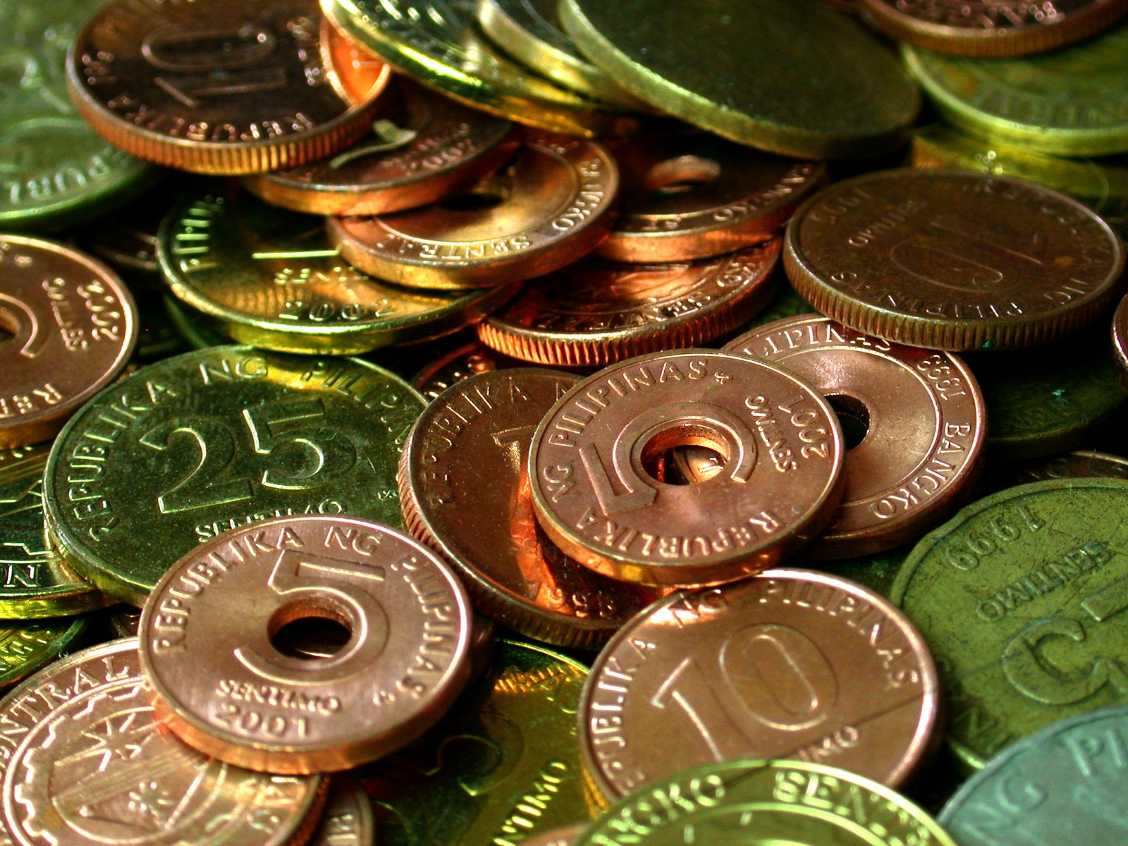 Free Philippine Coins Stock Photo