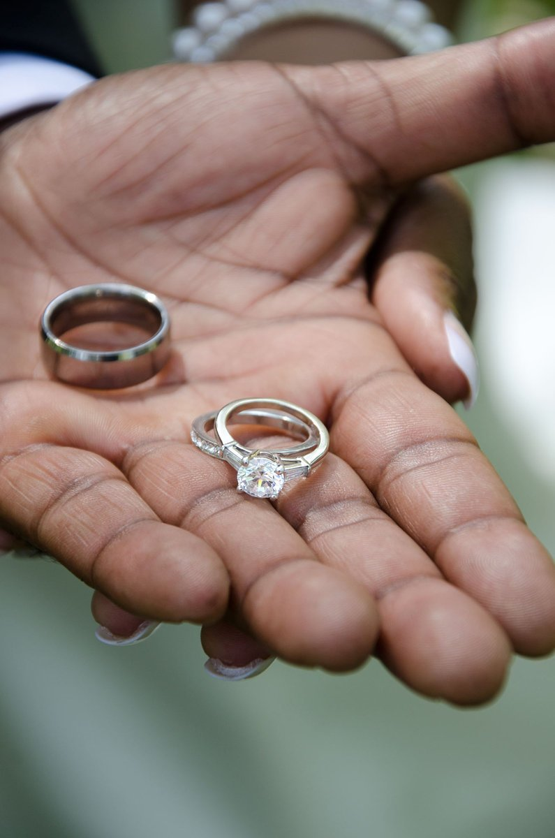 free wedding rings african american stock photo - Free Wedding Rings