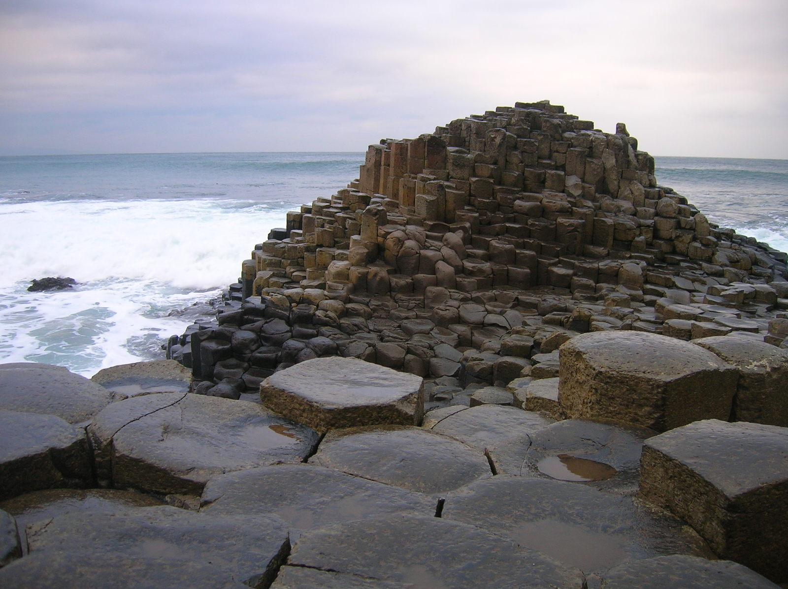 Free Giant S Causeway Stock Photo Freeimages Com