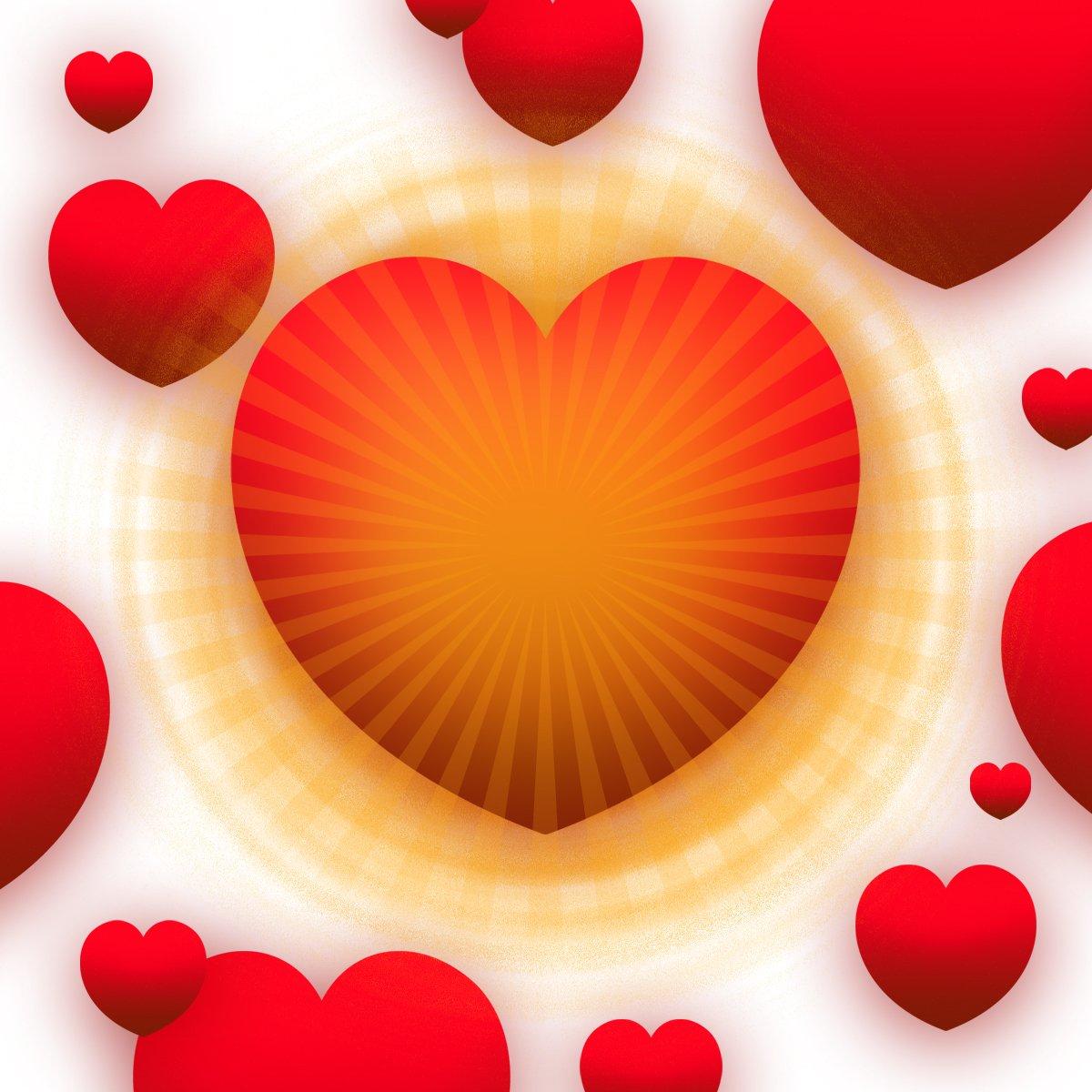 Открытки сердце и солнышко