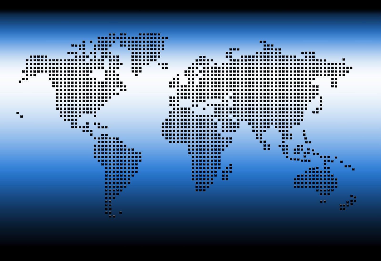 free digital world map stock photo freeimagescom