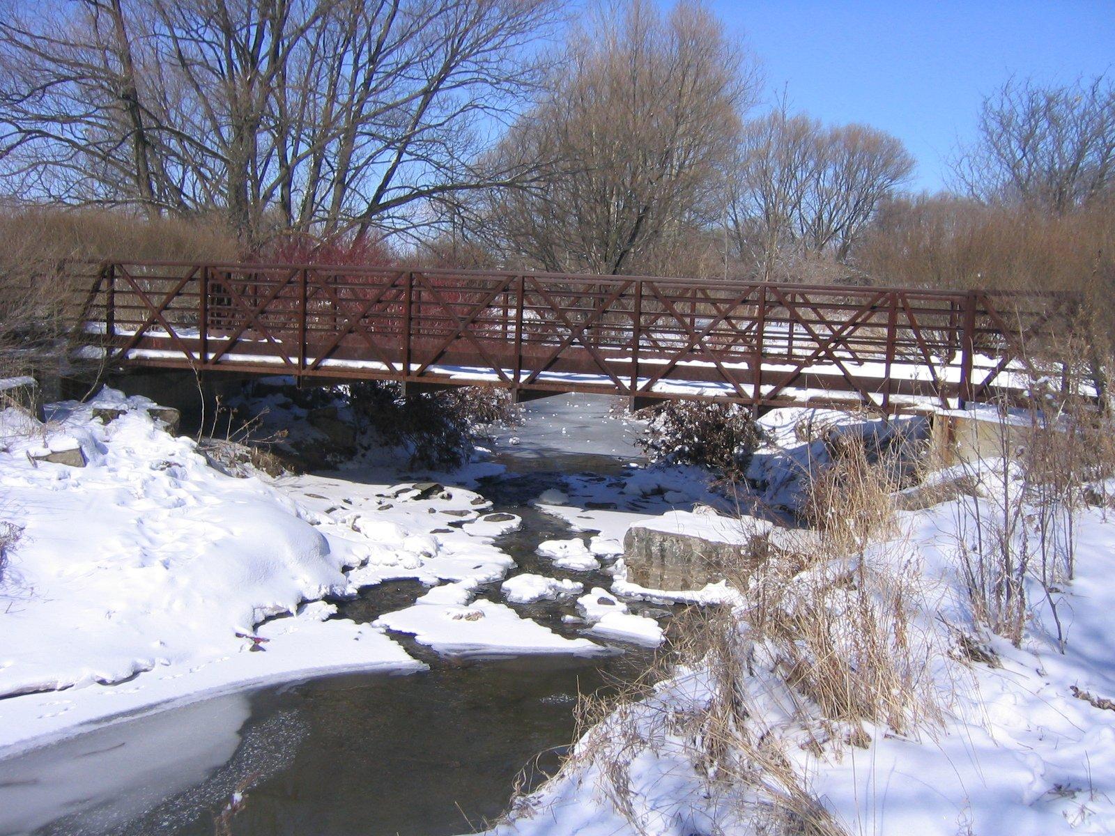 Free Winter Scene Stock Photo
