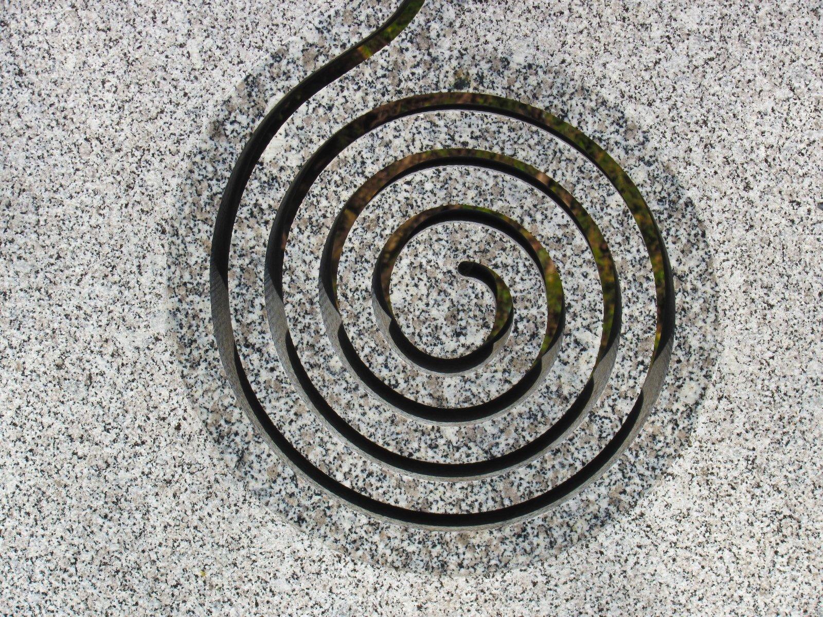 Free Stone Spiral Stock Photo