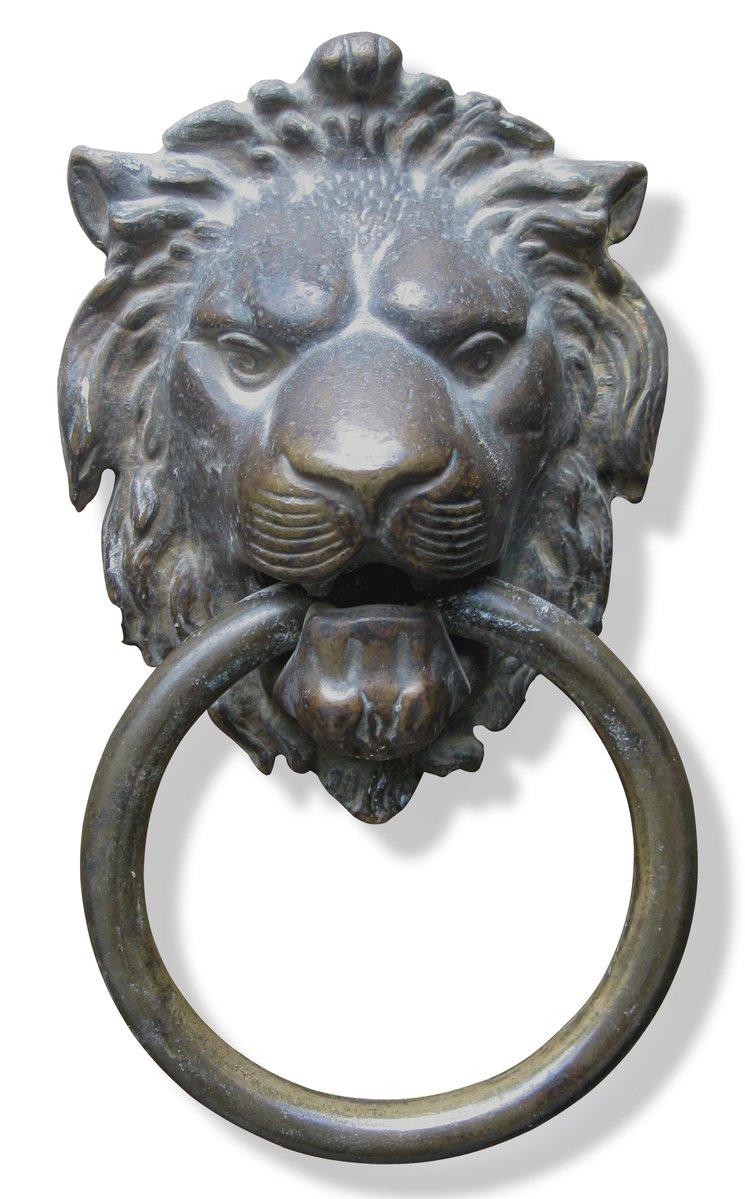 Free Lion Head Knocker Stock Photo Freeimages Com