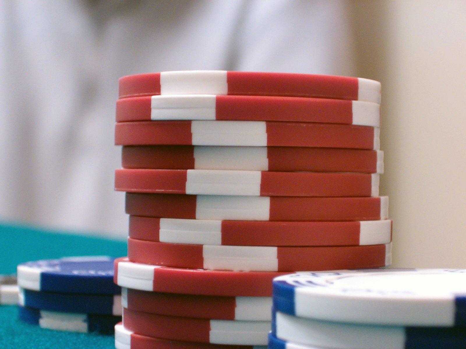 Free Fichas De Poker Stock Photo Freeimagescom