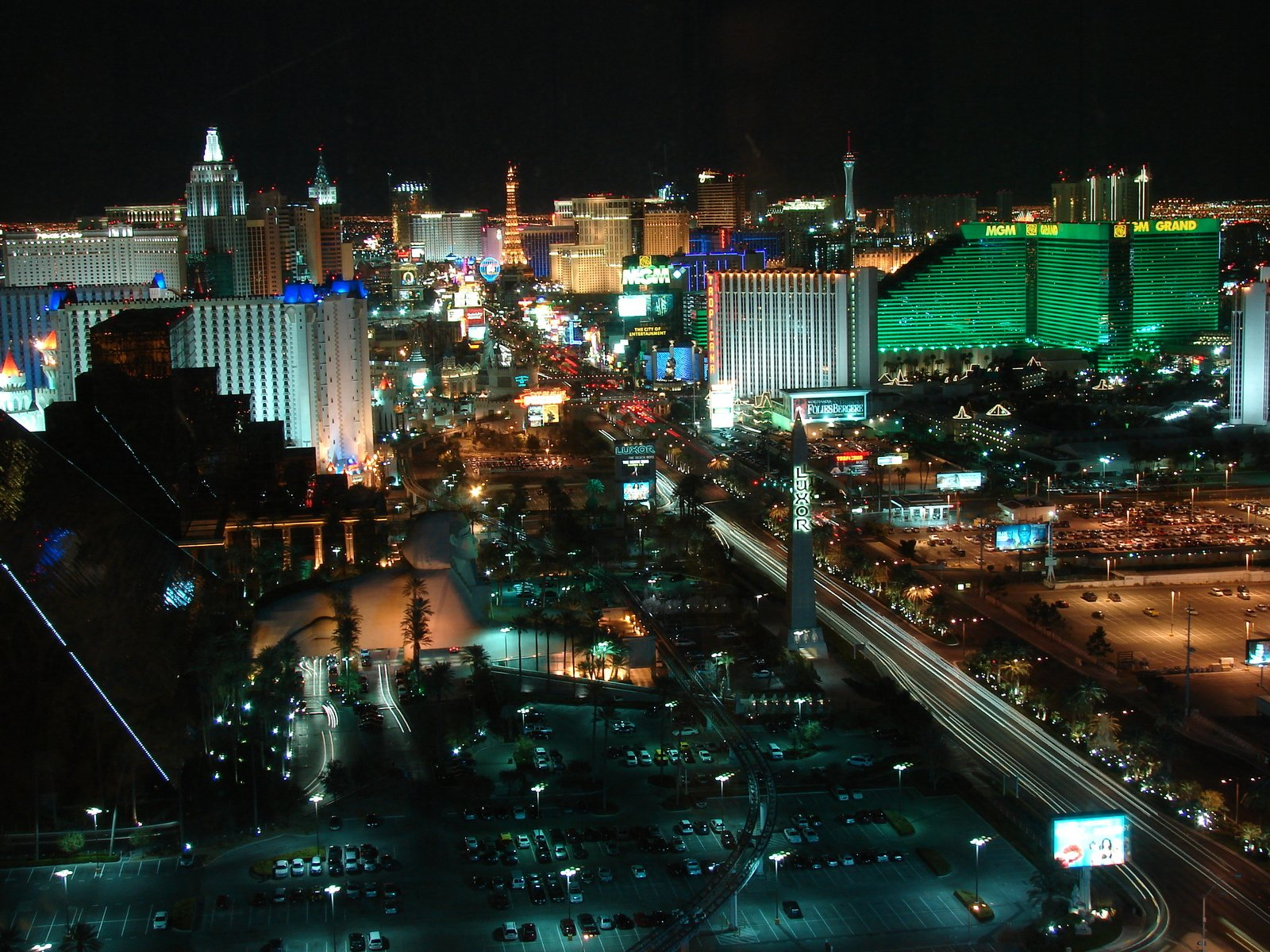 las vegas strip 1600x1200 - photo #2