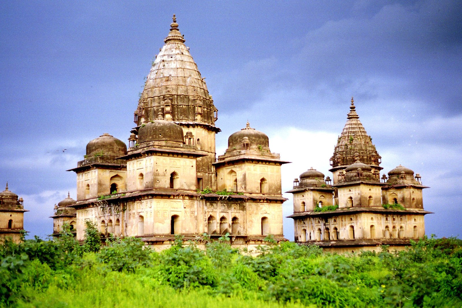 Chhattris in Orchha