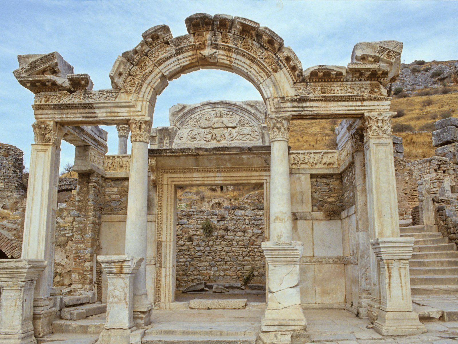 greek-roman ruins