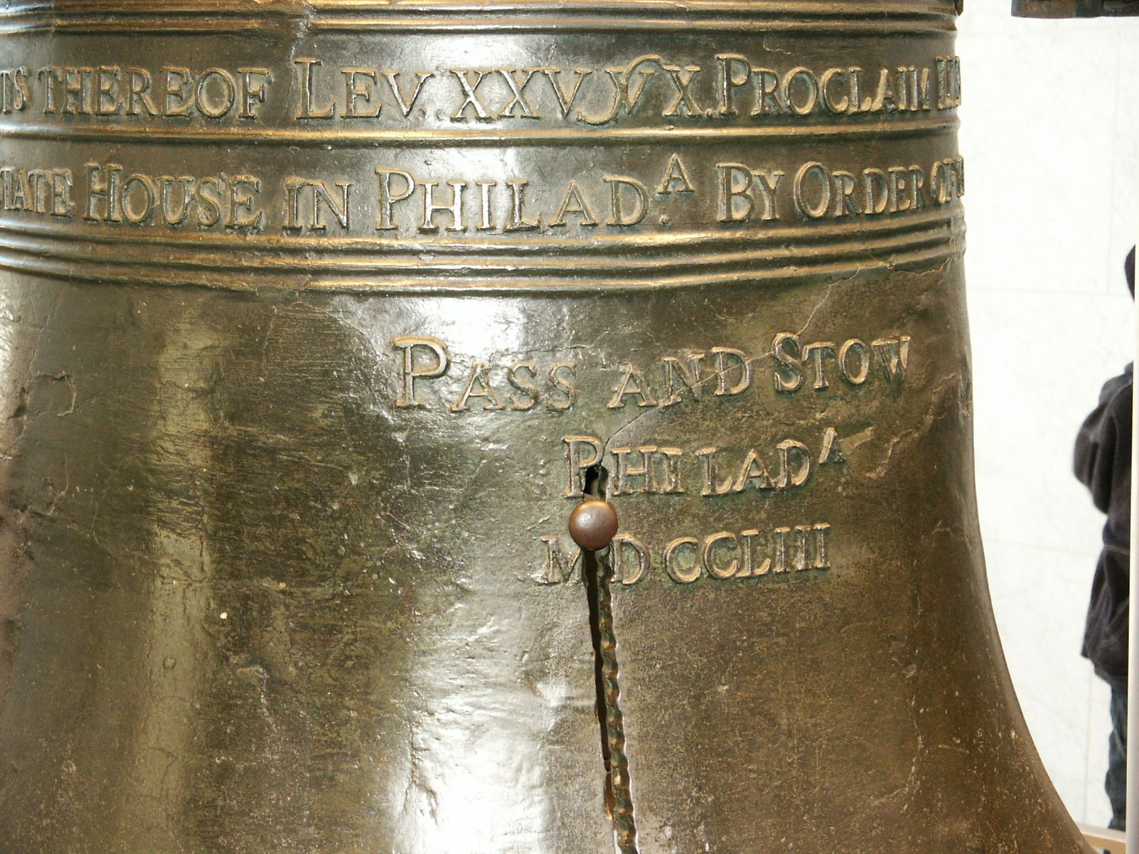 Liberty Bell closeup